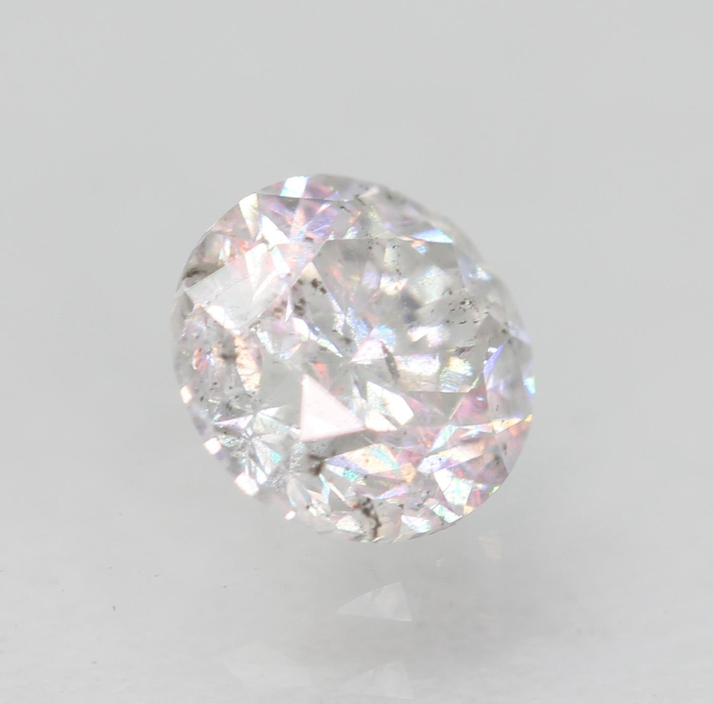 Certified 0.54 Carat E SI2 Round Brilliant Enhanced Natural Loose Diamond 5.01mm