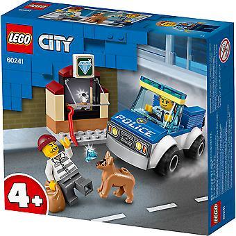 LEGO 60241 kaupungin poliisi koira yksikkö