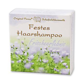 Florex Solid Hair Shampoo Fresh Experience con latte di pecora biologico 58 g