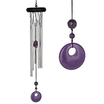 Amethyst chakra Wind Chime Large fra Woodstock