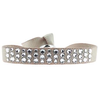Bracciale intercambiabile A32509 - cristalli di tessuto Beige donna Swarovski bracciale