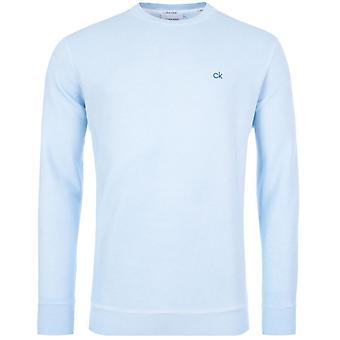 Calvin Klein Garment Dye Chest Logo Felpa