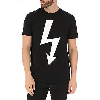 T-shirt bij Motif Stretch - Neil Barrett