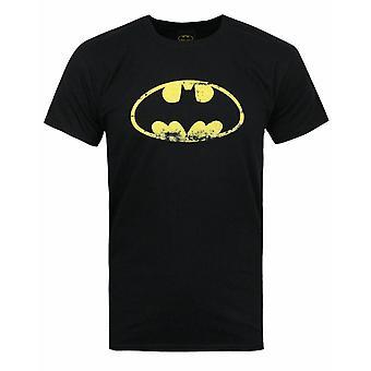 Batman Distressed Emblem Männer's T-Shirt