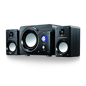 Multimédia hangszórók Ewent EW3512 40W Fekete