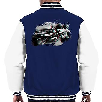 Motorsport Images Romain Grosjean Lotus E21 Renault Spanish GP Men's Varsity Jacket