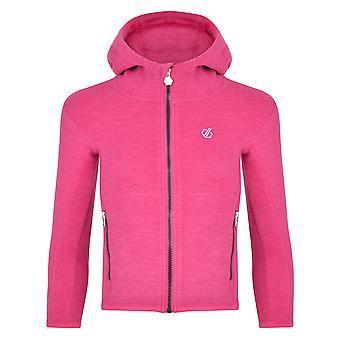 Dare 2b Boys Genesis Polyester Full Zip Hooded Fleece Jacket
