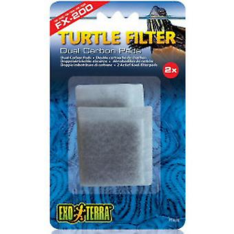 Exo Terra Carbon Charge for Filter FX200 (Reptiles , Humidity Tools , Filters and Pumps)