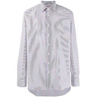 Gestreept shirt met lange mouwen