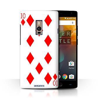 STUFF4 Pokrywę dla OnePlus 2/2/10 diamentów/grania kart