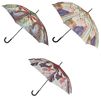 Hawkins Adults Unisex Renoir Portrait Automatic Umbrella