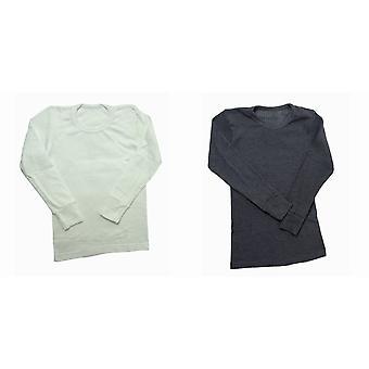 طويلة ملابس الحرارية الأولاد اكمام تي قميص بوليفيسكوسي النطاق (البريطانية قدم)