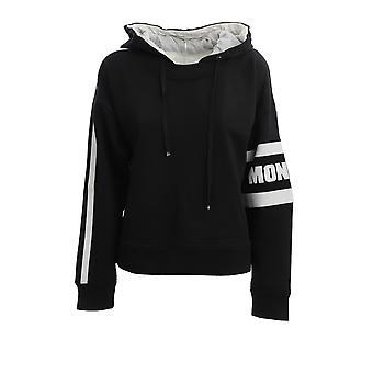 Moncler 8g70900v8105999 Women's Black Cotton Sweatshirt