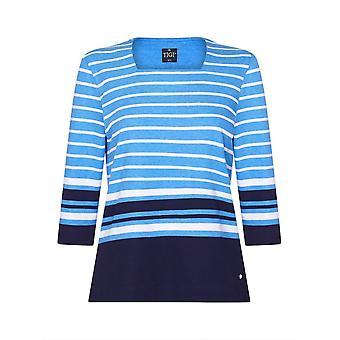 TIGI Blue Stripe Top