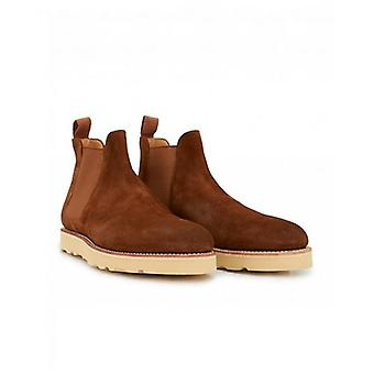 Bass Weejuns Monogram Wedge Chelsea Boots