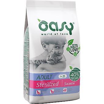Oasy Sterilized Adult Salmon (Cats , Cat Food , Dry Food)