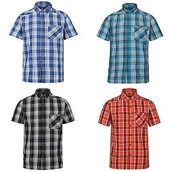 Regatta Mens Kalambo V Lyhythihainen ruudullinen paita