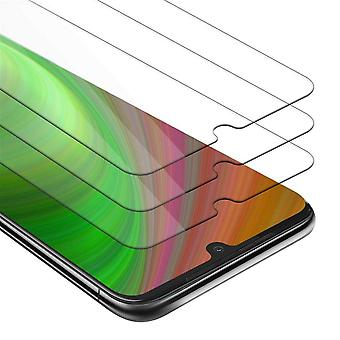 Cadorabo 3x Tank Foil for Motorola MOTO G8 PLUS - Protective Film in KRISTALL KLAR - 3 Pack Tempered Display Protective Glass in 9H Hardness with 3D Touch Compatibility