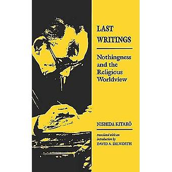 Nishida Last Writing Paper by Kitaro & Nishida