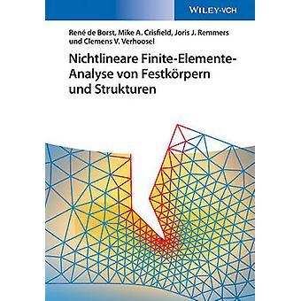 Nichtlineare Finite-Elemente-Analyse von Festkorpern und Strukturen b