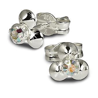SilberDream SDO530F - Women's loin earrings - sterling silver 925