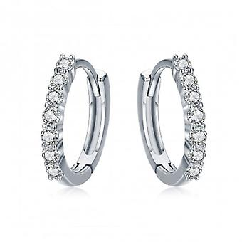 Silver Earrings Dazzling - 6539