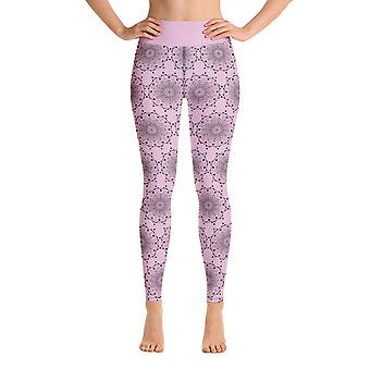 Workout Leggings | Yoga Leggings | Mandala in Lila