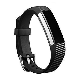 החלפת צמיד צמידים לרצועת יד להקה הלהקה עבור האבזם הקלאסי Fitbit בלטה [שחור] לקנות 2 לקבל 1 חינם
