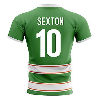 2020-2021 أيرلندا مفهوم الوطن قميص الرجبي (Sexton 10)