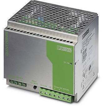 فينيكس الاتصال QUINT-PS-3X400-500AC/24DC/20 السكك الحديدية التي شنت PSU (DIN) 24 V DC 20 A 240 W 1 x