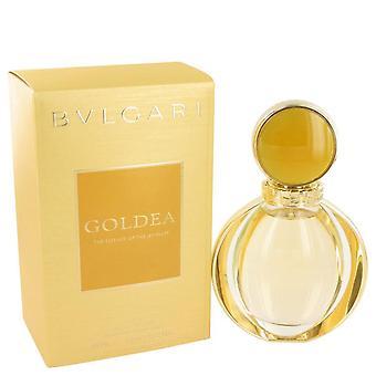 Bvlgari Goldea Eau De Parfum Spray por Bvlgari 3 oz Eau De Parfum Spray