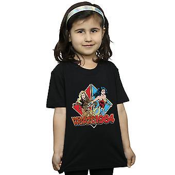 DC Comics Girls Mulher Maravilha 84 De Volta Para Trás T-Shirt