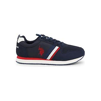 U.S. Polo Assn. - Shoes - Sneakers - NOBIL4243S0_TH1_DKBL - Men - navy,red - EU 44