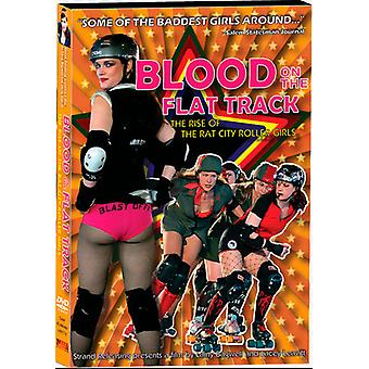 Blood on the Flat Track [DVD] USA import