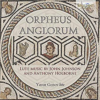 Holborne / Johnson / Genov - Orpheus Anglorum [CD] USA import