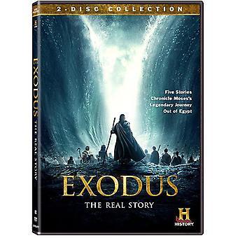 Êxodo: O história Real [DVD] EUA importar