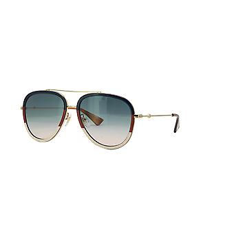 Gafas de sol Gucci GG0062S 013 Gold-Blue/Blue Gradient