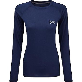 North Ridge Women's Resistance Long Sleeve Baselayer Navy