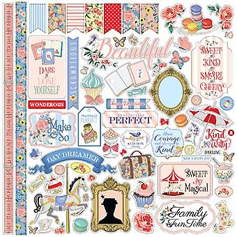 Carta Bella Practically Perfect 12x12 Inch Element Sticker