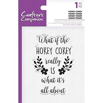 Crafter's Companion Clear Stamps - Hokey Cokey