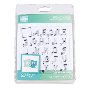 First Edition Alphabet Tiles Dies