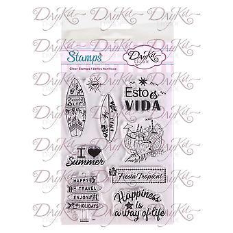 DayKa Trade Fiesta Tropical Stamps