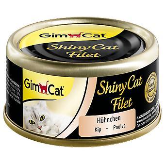 Gimborn Shinycat Wet Food für Katzen mit Hühnerfilet