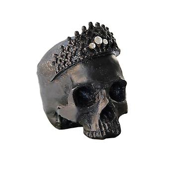 Creative Queen Shape Resin Crafts Ornament Black