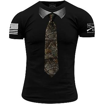 Grunt Style Realtree Edge - Cravatta T-Shirt - Nero