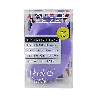 Tangle Teezer Thick & Curly Detangling Hair Brush - # Lilac Fondant 1pc