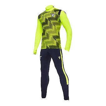 2020-2021 لاتسيو نصف البدلة الرياضية (أصفر)