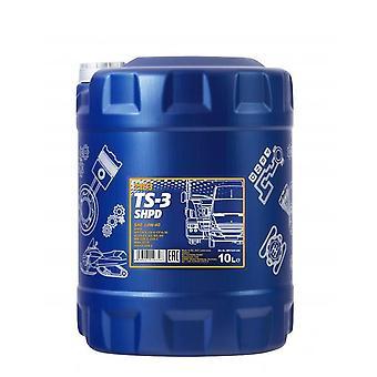 Mannol TS-3 SHPD Huile de moteur minéral 10 L 10W-40 Acea E3/A3/B3 Volvo VDS-2