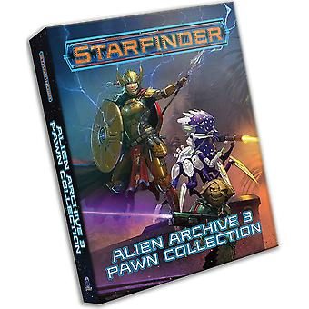 Starfinder pionnen: Alien Archief 3 pion collectie