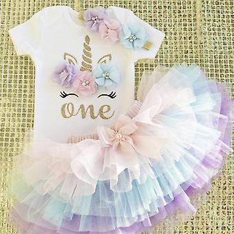 Baby First Birthday Outfit - Summer Infant Christening Suits
